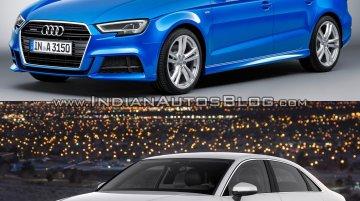 Audi A3 Sedan facelift – Old vs. New