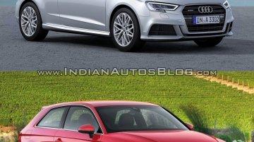 2016 Audi A3 hatchback (facelift) – Old vs. New