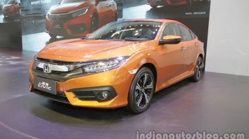 2016 Honda Civic – Auto China 2016