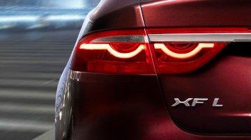 Jaguar XF-L teased for Beijing Motor Show debut