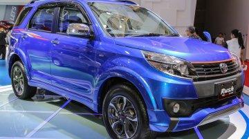 2016 Toyota Rush (facelift) showcased at IIMS 2016 - Indonesia