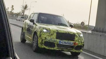 2017 MINI Countryman spied up close