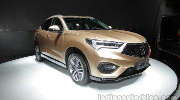 Acura CDX compact SUV - Auto China Live