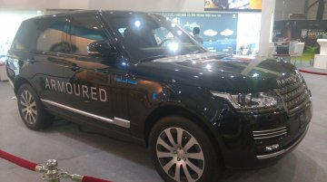 Range Rover Sentinel makes Indian debut at Defexpo 2016