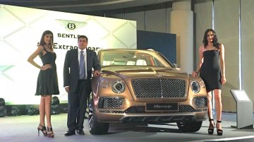 Bentley Bentayga launched in India at INR 3.85 crores