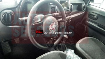 Fiat Mobi interior spied yet again