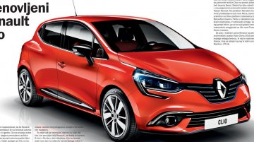 New rendering of the 2016 Renault Clio (facelift) shows what's in store