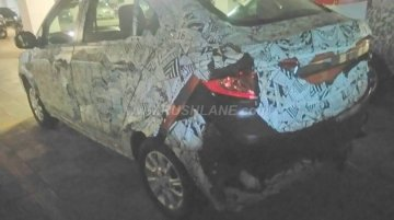 Tata Kite 5 compact sedan in production version spied
