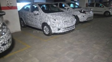 Tata Nexon, Kite 5 spied testing alongside