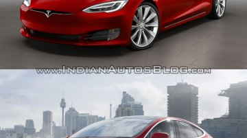 Tesla Model S facelift – Old vs. New