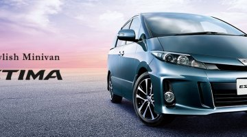 New Toyota Estima (Toyota Previa) order books open in May – Japan