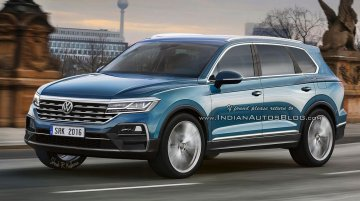 Next-gen 2018 VW Touareg - Rendering