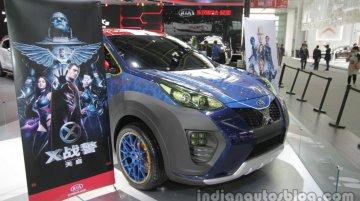 X-Men-inspired Kia KX5 - 2016 Auto China Live