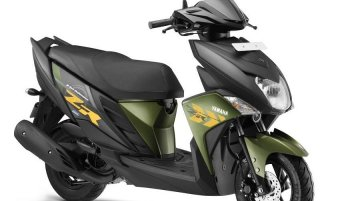 Yamaha Cygnus Ray ZR scooter launched at INR 52,000