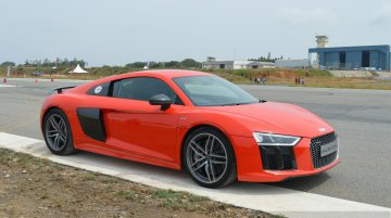 Audi Driving Experience with the 2016 Audi R8 V10 Plus [Video]