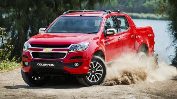 2016 Chevrolet Colorado (facelift) debuts in ASEAN markets