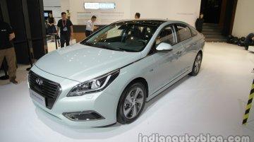 Hyundai Sonata Hybrid - Auto China 2016