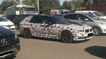 2016 BMW 5 Series Touring spotted in the wild
