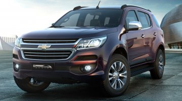Production-spec 2016 Chevrolet Trailblazer (facelift) unveiled