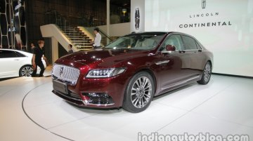 Lincoln Continental - Auto China 2016