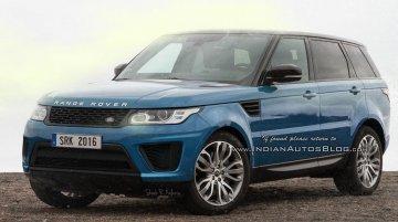 2017 Range Rover Sport (facelift) Rendering