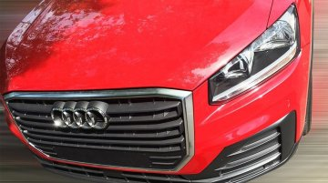 India-bound Audi Q2 spotted in China