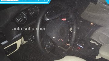 BMW 1 Series sedan's interior spied in new photos