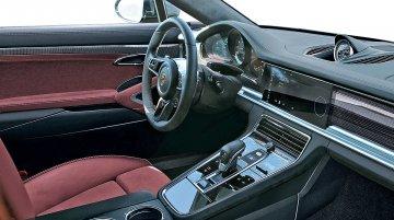 Interior of the 2017 Porsche Panamera rendered