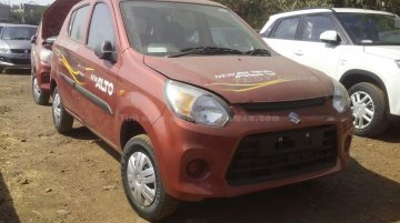 Maruti Alto 800 facelift spied inside and out; launch is days away