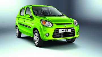 Maruti Alto 800 facelift launched at INR 2.49 lakhs