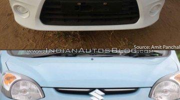 Maruti Alto 800 facelift vs Older model - Old vs New
