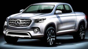 Mercedes GLT pickup spied testing yet again