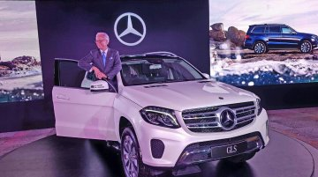 Mercedes GLS launched in India at INR 80.38 lakhs