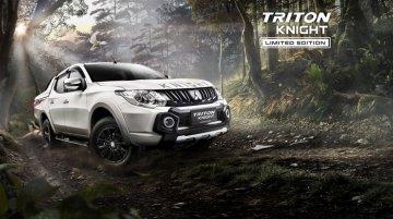 Mitsubishi Triton Knight edition launched - Malaysia