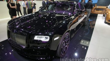Rolls-Royce Ghost Black Badge - Auto China 2016