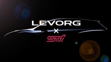 Subaru Levorg STi production version teased in Japan