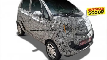 Tata Nano Pelican spied for the first time