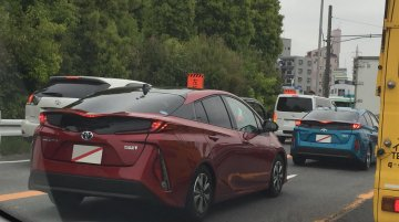 Toyota Prius Prime (Toyota Prius PHV) spotted in the wild in Japan
