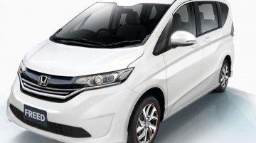 2016 Honda Freed rendered based on patent leak