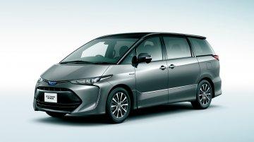 2016 Toyota Estima (facelift) unveiled in Japan