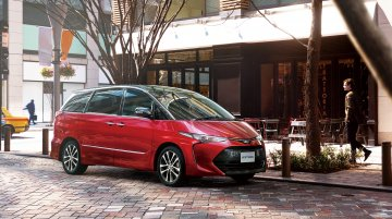 Next-gen Toyota Previa to ride on the TNGA-C platform - Report