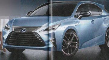Next-generation Lexus CT hatchback - Rendering