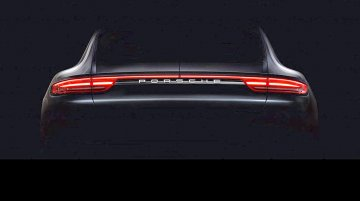 2017 Porsche Panamera teased in video, partially reveals rear end