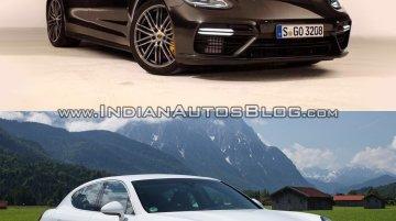 2017 Porsche Panamera vs. 2014 Porsche Panamera - In Images [Update]