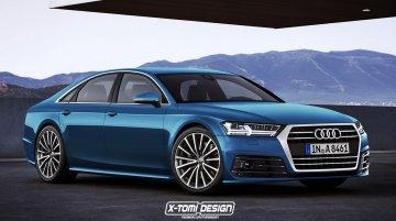 Next-gen Audi A8 - Rendering