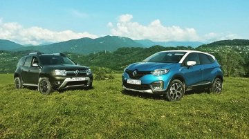 India-bound Renault Kaptur snapped with Renault Duster