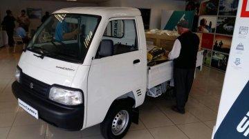 India-made (Maruti) Suzuki Super Carry arrives at dealership - South Africa