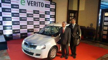 Mahindra e-Verito launched at INR 9.50 Lakhs