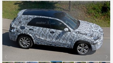 Next generation Mercedes GLE spotted testing for the first time
