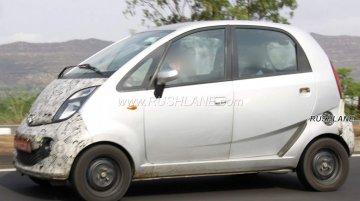 Purported electric Tata Nano spied testing in Maharashtra